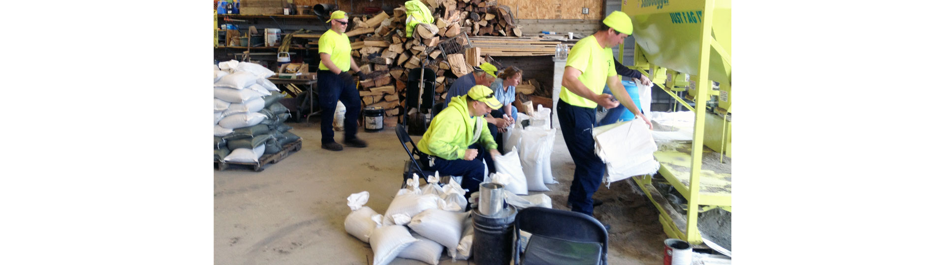Nunda Road District Sand Bagging