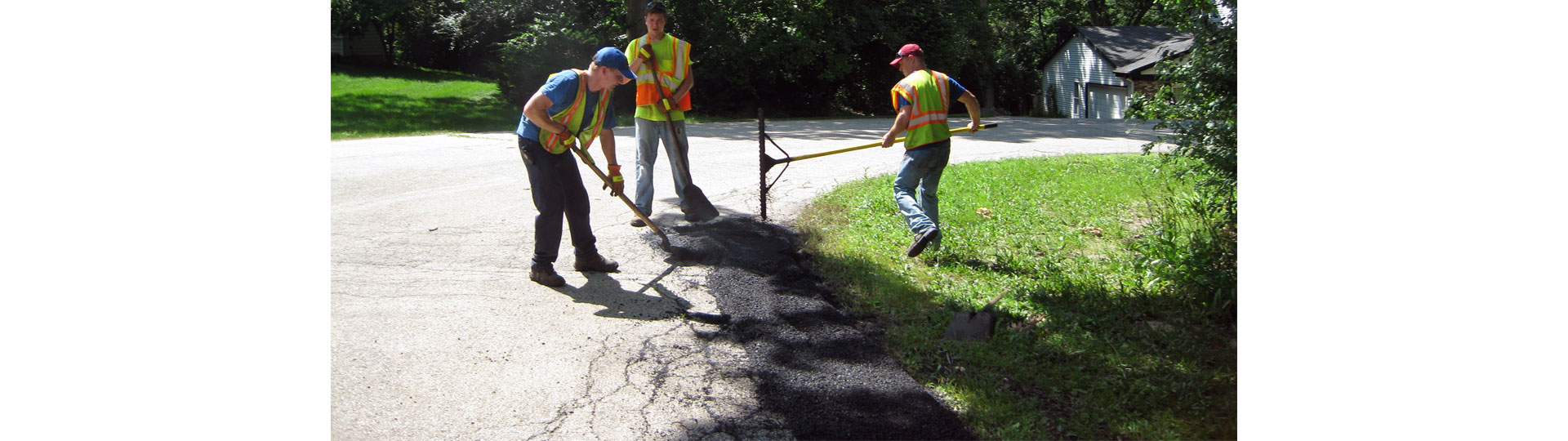 Nunda Road District Paving Work