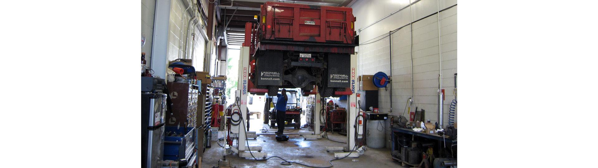 Nunda Road Truck Work